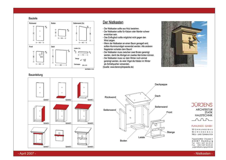 2007 nistenkastenbau j rjens planungs gmbh. Black Bedroom Furniture Sets. Home Design Ideas